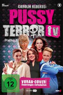 Carolin Kebekus: Pussy Terror TV Staffel 2, 2 DVDs