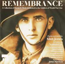 Remembrance (A Collection Of Poems & Music Dedicated To The Soldiers Of World War One), CD