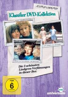 Astrid Lindgren Klassiker-Kollektion, 3 DVDs