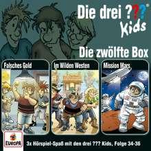 Die drei ??? Kids 12. 3er Box - Folgen 34-36 (3 Audio-CDs), 3 CDs