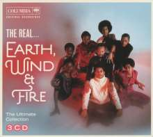 Earth, Wind & Fire: The Real...Earth, Wind & Fire, 3 CDs