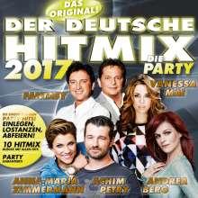 Der deutsche Hitmix: Die Party 2017, CD