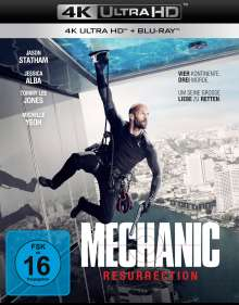 Mechanic: Resurrection (Ultra HD Blu-ray & Blu-ray), 2 Ultra HD Blu-rays