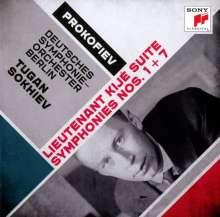 Serge Prokofieff (1891-1953): Symphonien Nr.1 & 7, CD