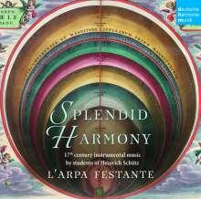 Splendid Harmony - 17th Century Music by Students of Heinrich Schütz, CD