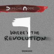 Depeche Mode: Where's The Revolution (Remixes), Maxi-CD
