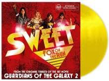 "The Sweet: Fox On The Run (Limited-Edition) (Yellow Vinyl), Single 12"""