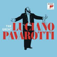 The Great Luciano Pavarotti, 3 CDs