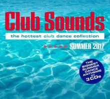 Club Sounds Summer 2017, 3 CDs