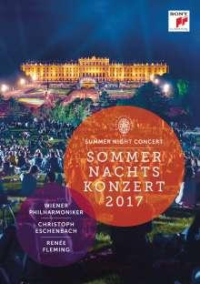 Wiener Philharmoniker - Sommernachtskonzert Schönbrunn 2017, DVD