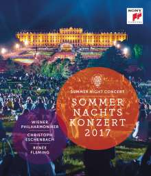 Wiener Philharmoniker - Sommernachtskonzert Schönbrunn 2017, Blu-ray Disc