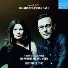 Andreas Scholl & Dorothee Oberlinger - Small Gifts (Johann Sebastian Bach), CD