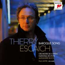 Thierry Escaich (geb. 1965): Klarinettenkonzert, CD