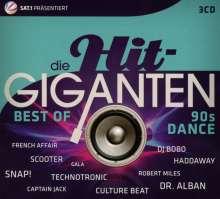 Die Hit-Giganten: Best Of 90's Dance, 3 CDs