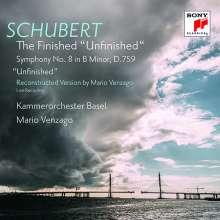 Franz Schubert (1797-1828): Symphonie Nr.8 (mit dem von Mario Venzago vervollständigten 3. Satz), CD