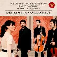 Berlin Piano Quartet - Mozart / Mahler / Schumann, CD