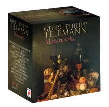 Georg Philipp Telemann (1681-1767): Telemann-Meisterwerke, 30 CDs