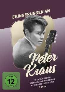 Erinnerungen an Peter Kraus, 3 DVDs