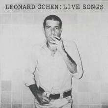Leonard Cohen (1934-2016): Live Songs, LP