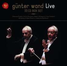 Günter Wand - Live Recordings, 33 CDs