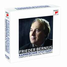 Frieder Bernius - Complete Sony Classical Recordings, 15 CDs