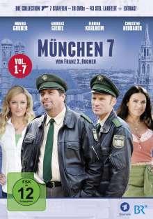 München 7 Vol. 1-7, 19 DVDs