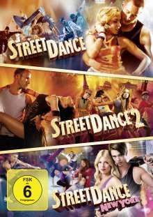 Street Dance 1-3, 3 DVDs