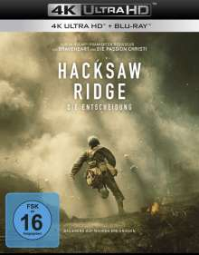 Hacksaw Ridge (Ultra HD Blu-ray & Blu-ray), 2 Ultra HD Blu-rays