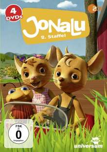 JoNaLu Staffel 2, 4 DVDs