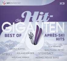 Die Hit Giganten: Best Of Après-Ski Hits, 3 CDs