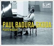 Wolfgang Amadeus Mozart (1756-1791): Klaviersonaten Nr.1-12,14-18, 5 CDs