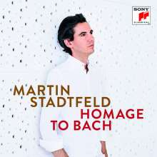 Martin Stadtfeld - Homage to Bach, CD