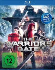 The Warriors Gate (3D Blu-ray), Blu-ray Disc