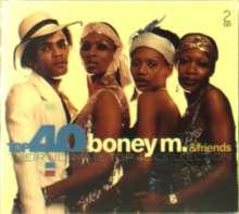 Boney M.: Top 40 - Boney M. And Friends, 2 CDs