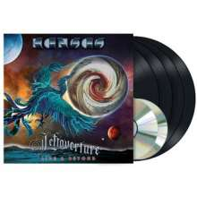 Kansas: Leftoverture Live & Beyond (180g), 4 LPs