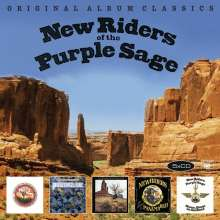 New Riders Of The Purple Sage: Original Album Classics, 5 CDs