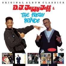 DJ Jazzy Jeff & Fresh Prince: Original Album Classics, 5 CDs