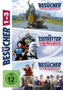 Die Besucher 1-3, 3 DVDs