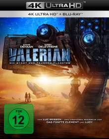 Valerian (Ultra HD Blu-ray & Blu-ray), Ultra HD Blu-ray