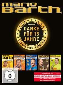 Mario Barth: Danke für 15 Jahre - Alle Live-DVDs in einer Box, 5 DVDs