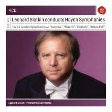 "Joseph Haydn (1732-1809): Symphonien Nr.93-104 ""Londoner"", 4 CDs"
