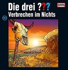 Die drei ???: Die drei ??? (Folge 191) - und das Verbrechen im Nichts (180g) (Limited-Edition), 2 LPs