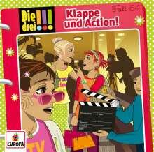Die drei !!! 054/Klappe und Action!, CD