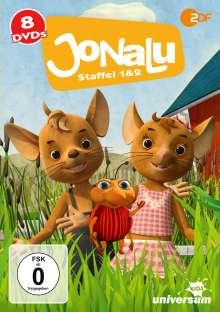 JoNaLu Staffel 1 & 2, 8 DVDs