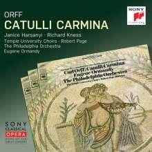 Carl Orff (1895-1982): Catulli Carmina, CD