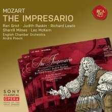 Wolfgang Amadeus Mozart (1756-1791): Der Schauspieldirektor, CD