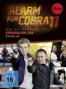 Alarm für Cobra 11 Staffel 40, 3 DVDs