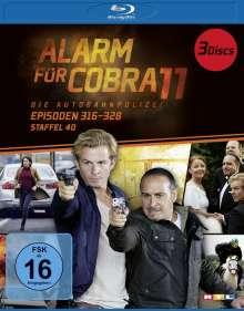 Alarm für Cobra 11 Staffel 40 (Blu-ray), 3 Blu-ray Discs