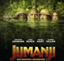 Filmmusik: Jumanji: Welcome To The Jungle (DT: Willkommen im Dschungel), CD