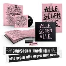 Zugezogen Maskulin: Alle gegen Alle (Box), 1 CD und 1 Merchandise